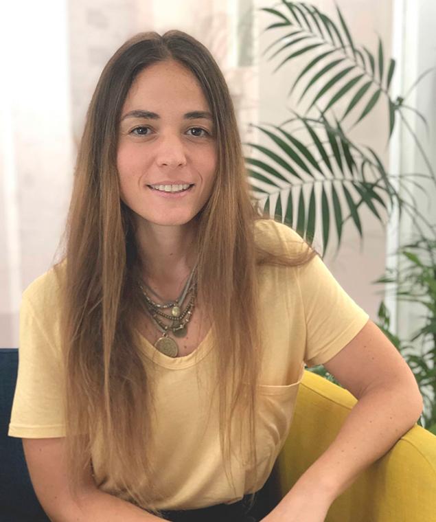 Eva Álvarez, mentora de Lab Barbanza
